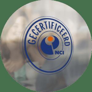 NCI gecertificeerd